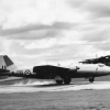 Canberra arrival 45 Sqn 1956