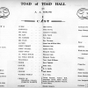 Toad Hall-cast