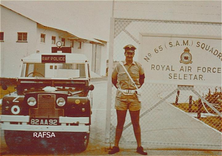 82 AA 92 RAF Seletar 1969