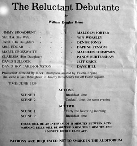 Reluctant Debutantet Prog 4