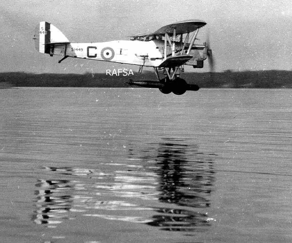 Seletar 1930s 1930-35 1934 Horsley (Hawker)