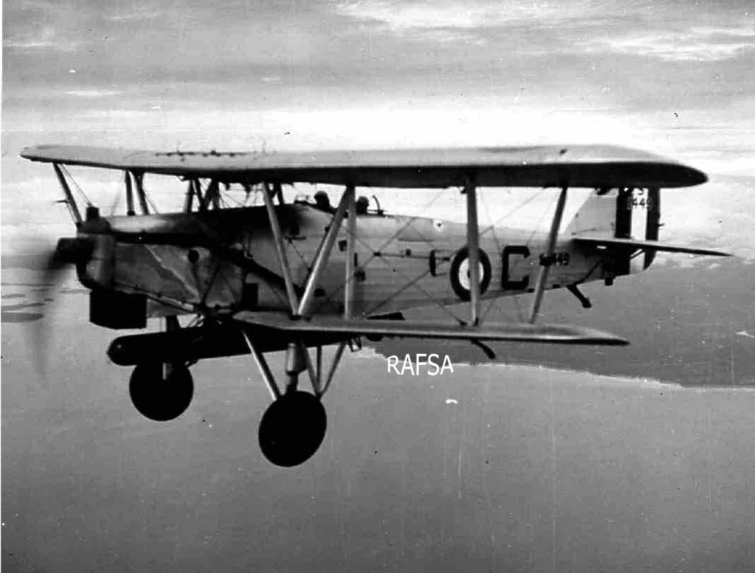 Seletar 1930s 1930-35 Horsley (Hawker) 36 Sqn