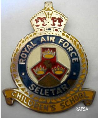 Seletar 1950s School Badge