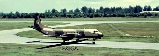 Seletar 1960s 1966-69 Andover (Hawker Siddley) 52 Sqn Seletar