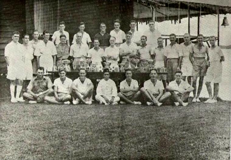 Winning crews & Excec Committee 1934